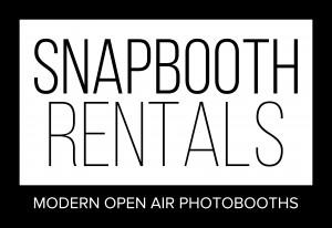 SnapBooth Rentals white_logo_dark_background