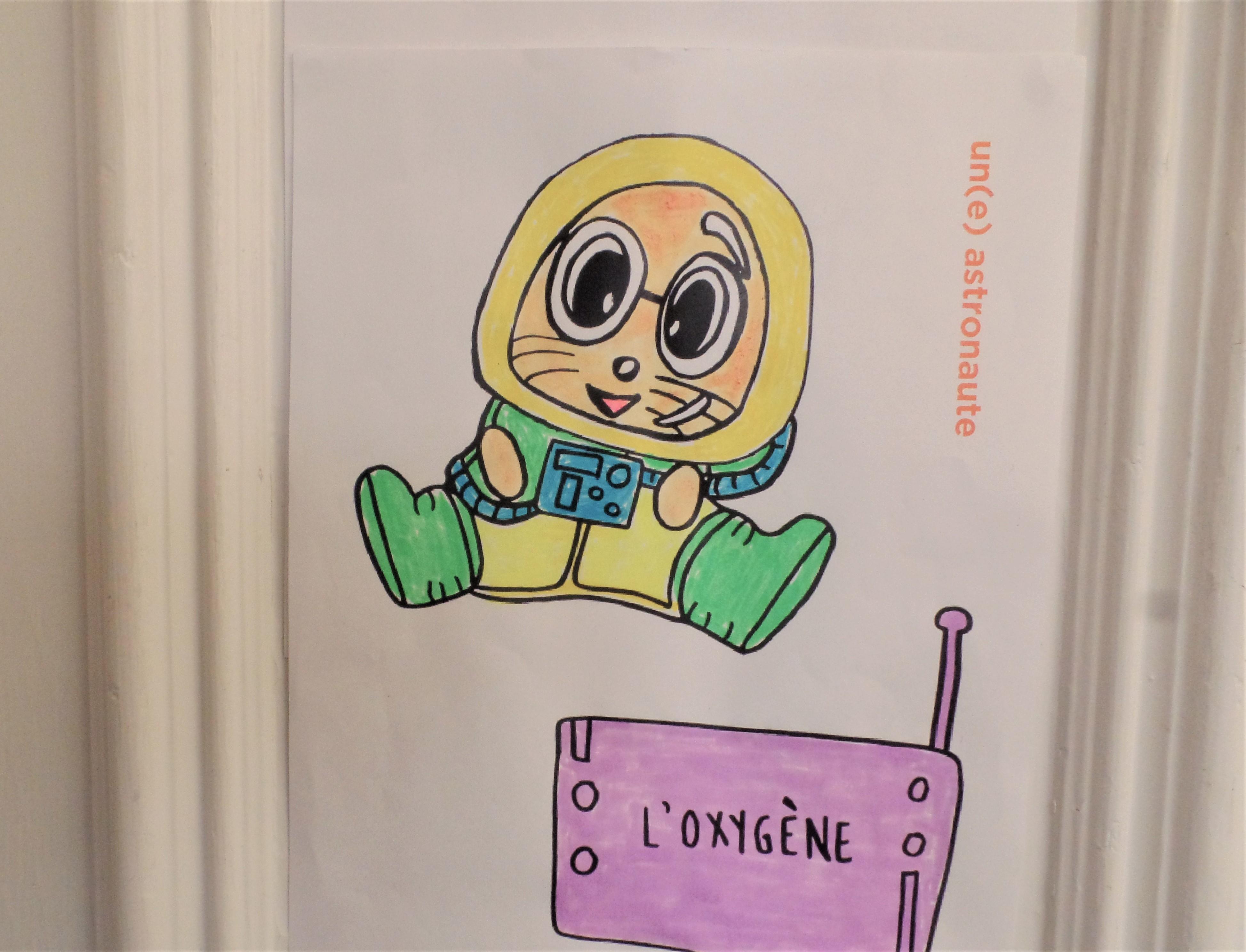 Pacôme, l'astronaute