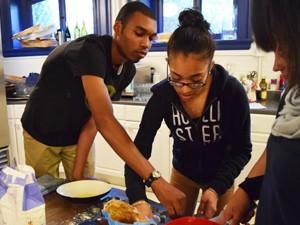 Teens-cooking