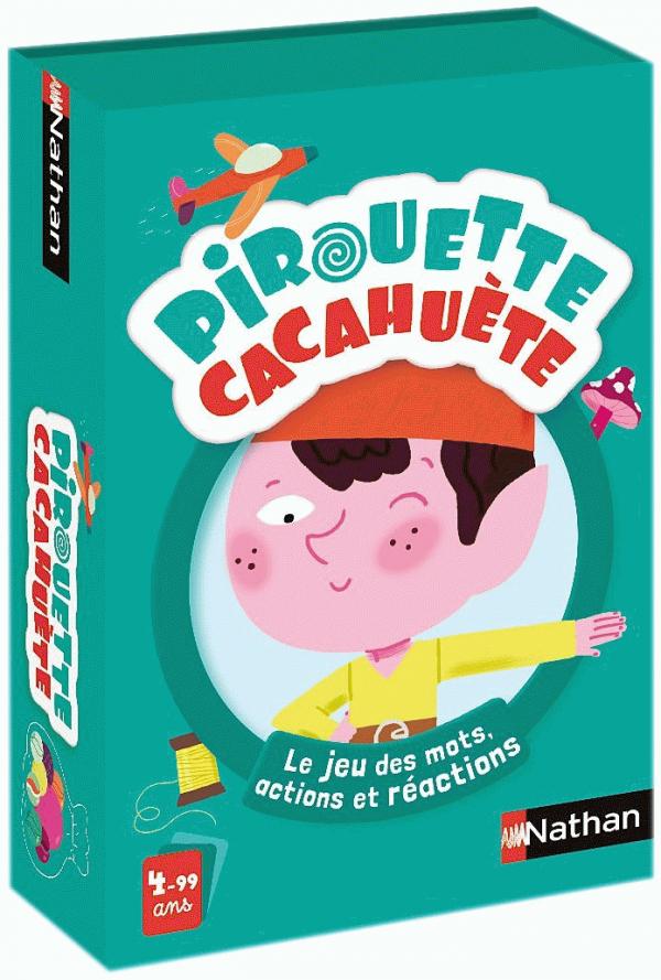 Pirouette Cacahuète: Le jeu des mots, actions et réactions