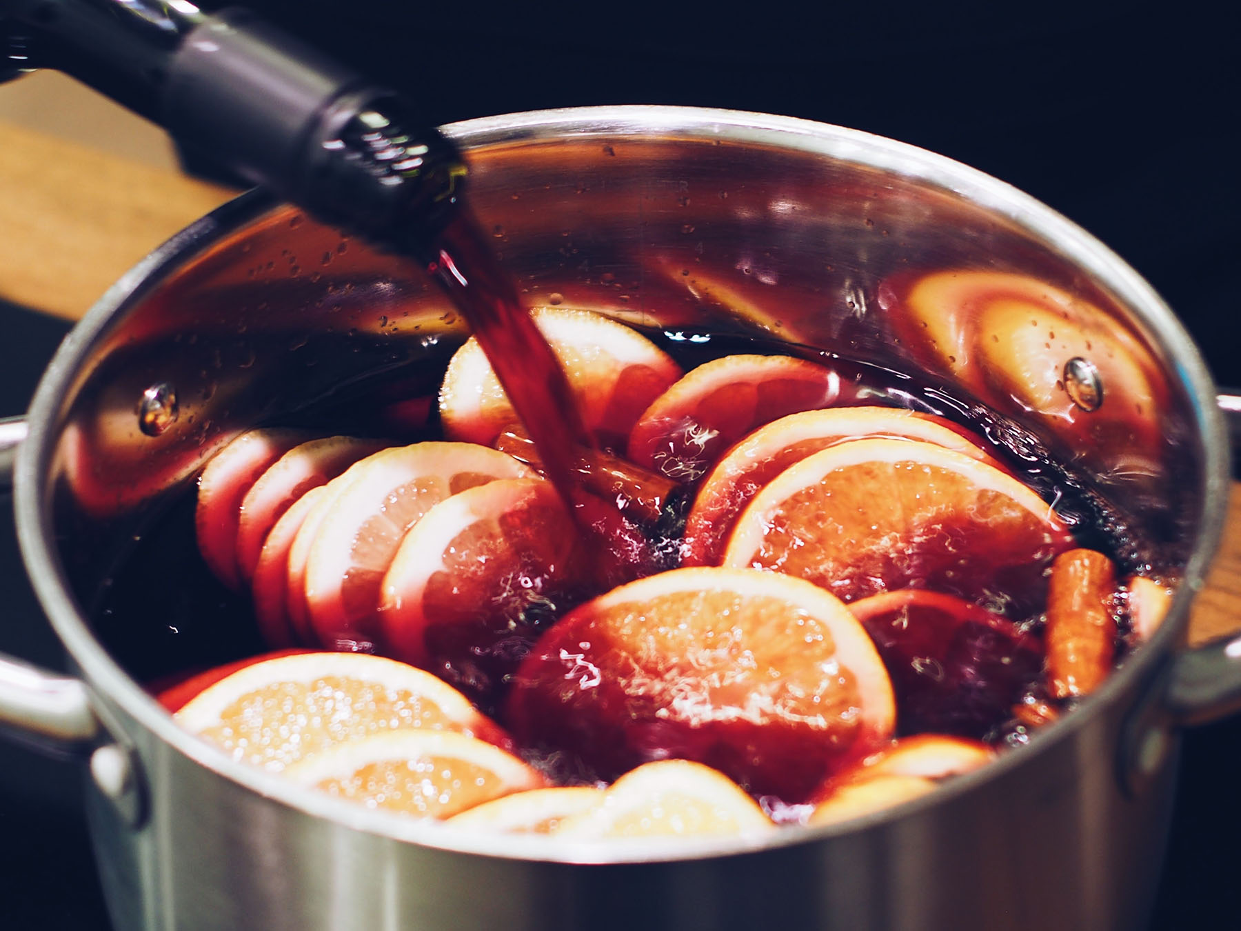 vin chaud mulled wine