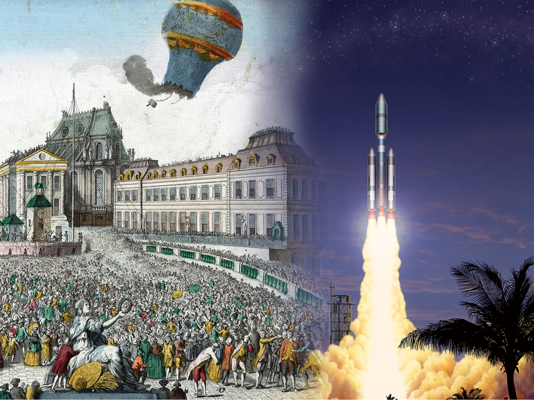 From Versailles to the Stars