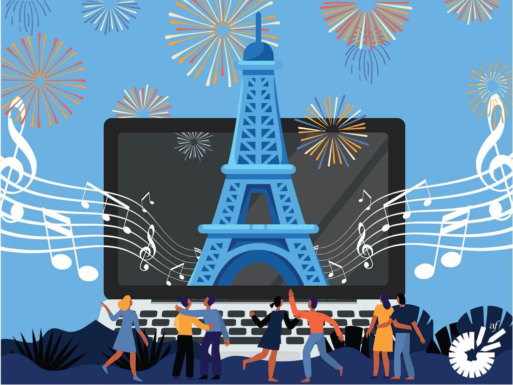 Bastille Day Online Celebration!